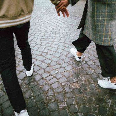 How to Wear Sneakers On a Date